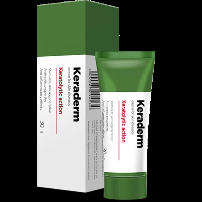 Keraderm - para problemas de pele - efeitos secundarios - como usar - Encomendar